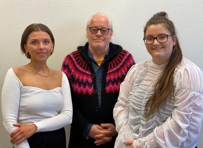 Hólmfríður María Ragnhildardóttir, Kristján Þór Sigurðsson og Sandra Smáradóttir
