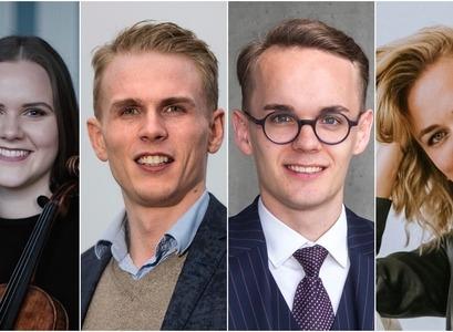 Hekla Finnsdóttir, Ísak Einar Rúnarsson, Kolbeinn Stefánsson og Kristín Einarsdóttir Mäntylä