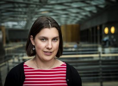 Sarah McGarrity, nýdoktor við Kerfislíffræðisetur Háskóla Íslands,