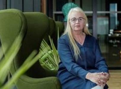 Erna Arnardóttir, VP of people hjá CCP