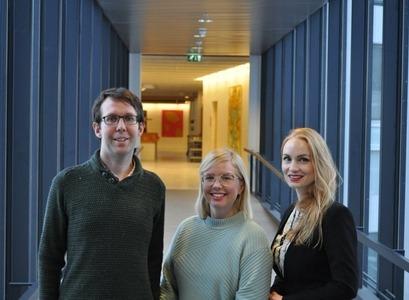 Dr. David Cook, Bjarnveig Birta Bjarnadóttir og Dr. Inga Minelgaite