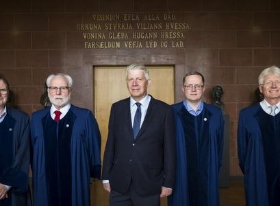 Guðmundur Hálfdanarson, Matthew James Driscoll, Þorgeir Sigurðsson, Klaus Johann Myrvoll og Torfi Tulinius.