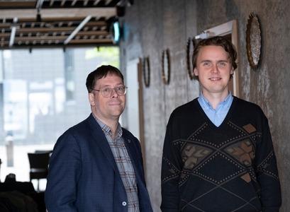 Ármann Jakobsson og Gunnlaugur Bjarnason. Mynd: Ernir-Fréttablaðið.