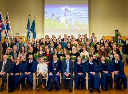 Hátíð brautskráðra doktora fór fram þann 1. desember síðastliðinn við Háskóla Íslands. MYND/ Kristinn Ingvarsson