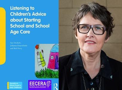Út er komin bókin Listening to Children's Advice about Starting School and School Age Care hjá Routledge bókaforlaginu. Jóhanna Einarsdóttir, prófessor við Háskóla Íslands, er ein þriggja ritstjóra bókarinnar.
