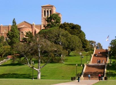 frá háskólasvæði UCLA