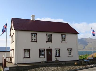 Gamla kaupfélagið á Breiðdalsvík. Myndina tók Hákon Hansson.
