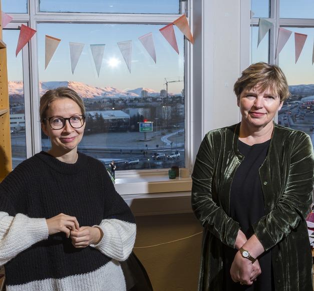 Ásta Jóhannsdóttir og Annadís G. Rúdólfsdóttir