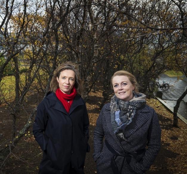 Ragnheiður Kristjánsdóttir og Erla Hulda Halldórsdóttir