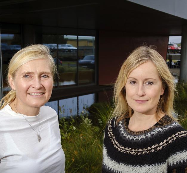 Hrönn Harðardóttir og Unnur Valdimarsdóttir
