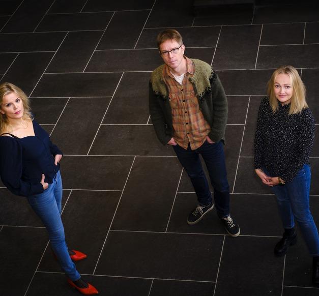 Berglind Rós Magnúsdóttir, Ólafur Páll Jónsson og Eva Harðardóttir