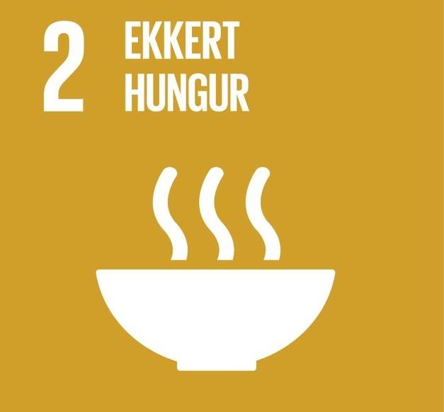 Heimsmarkmið 2 - Ekkert hungur