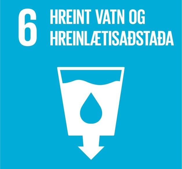 Heimsmarkmið 6 -Hreint vatn og hreinlætisaðstaða