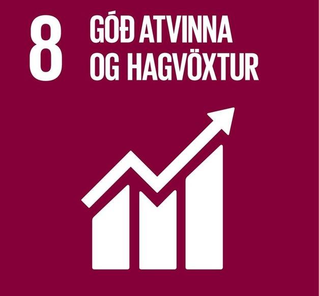Heimsmarkmið 8- Góð atvinna og hagvöxtur