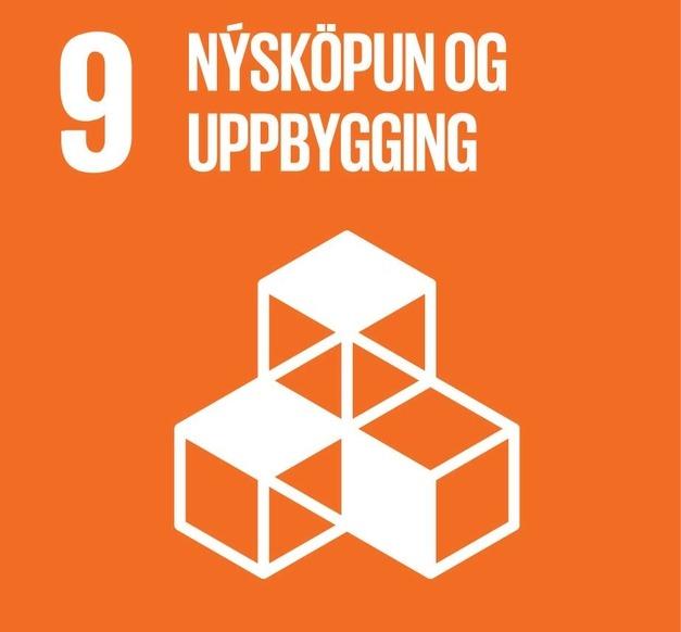 Heimsmarkmið 9 - Nýsköpun og uppbygging