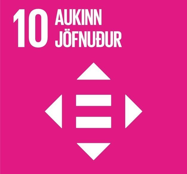 Heimsmarkmið 10 -Aukinn jöfnuður
