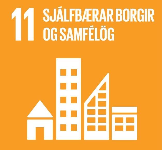 Heimsmarkmið 11- Sjálfbærar borgir og samfélög