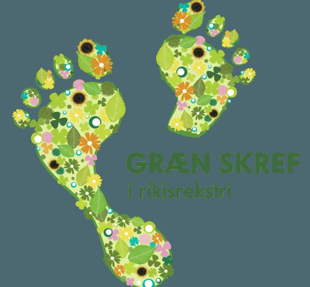 Græn skref í ríkisrekstri - logo