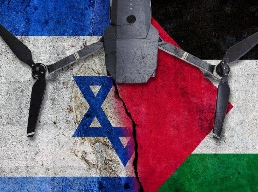 Banvænir drónar í Ísrael/Palestínu