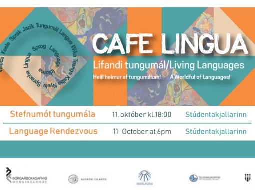 Café Lingua - stefnumót tungumála
