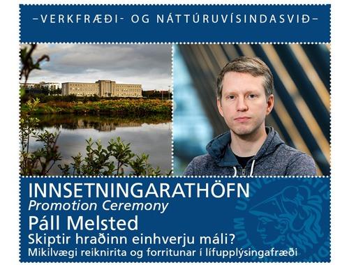 Innsetningarathöfn - Páll Melsted