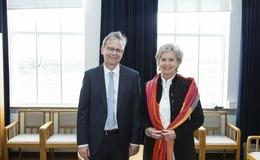 Jón Atli Benediktsson og Kristín Ingólfsdóttir