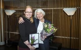 Íris Dögg Lárusdóttir, doktorsnemi við Félagsráðgjafardeild Háskóla Íslands