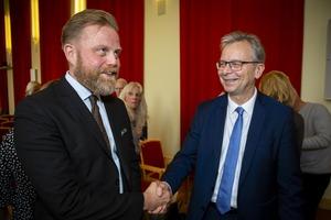 Ásgeir Jónsson og Jón Atli rektor