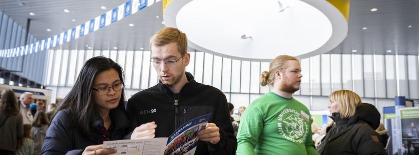 Markaðs- og samskiptasvið - á vefsíðu Háskóla Íslands