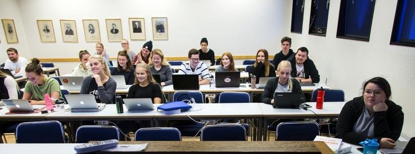 Viðfangsefni upplýsingafræðinnar - á vefsíðu Háskóla Íslands
