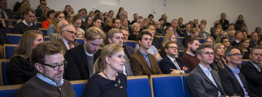 Starfsfólk Læknadeildar - á vefsíðu Háskóla Íslands