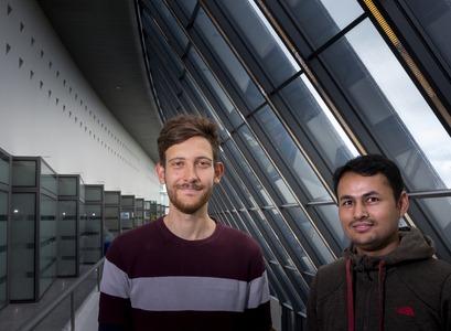 Diego Bitzenhofer og Ravindra Thapa