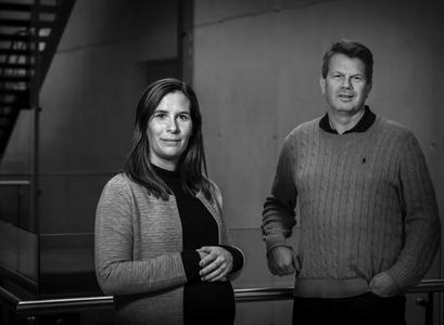 Rúna Sif Sveinsdóttir og Erlingur Jóhannson.